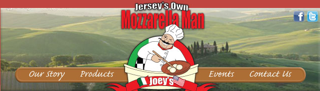 Jersey's Own Mozzarella Man